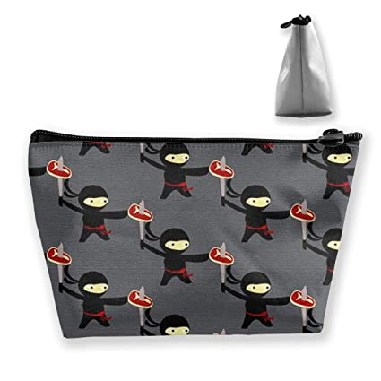 Pizza Ninja Mujer Bolsas de cosméticos Portátil Trapezoidal ...