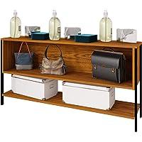 Estante Organizador 2 vistas Modelo 12060 con un cajón fijo reversible y un entrepaño inferior ancho 120 cm, alto 60 cm…