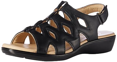 b86ba68d Flexi Hazel Sandalia de Confort para Mujer, color Negro, 22.5, Mod: 20514