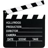 "Beistle 50715 Movie Set Clapboard, 8"" x 7"", Black/White"