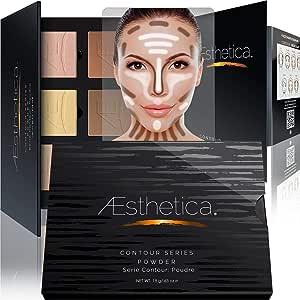 Aesthetica Cosmetics powder Contour Kit - Poudre