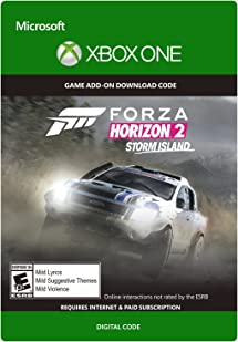Amazon com: Forza Horizon 2 Storm Island - Xbox One Digital