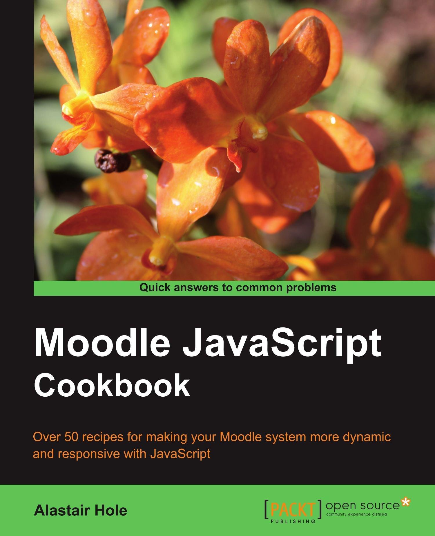 Moodle JavaScript Cookbook PDF