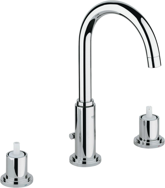 Atrio 8 in. Widespread 2-Handle Bathroom Faucet - 1.2 GPM
