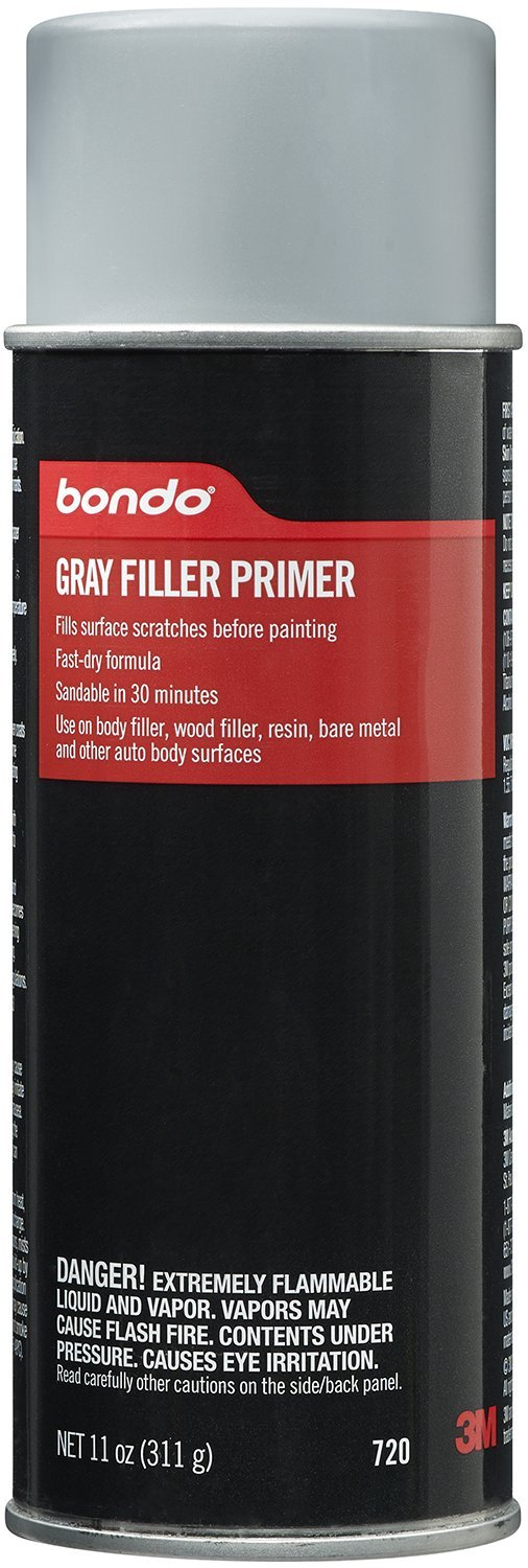 Bondo 720 Easy Finish Gray Aerosol Primer - 11 oz.
