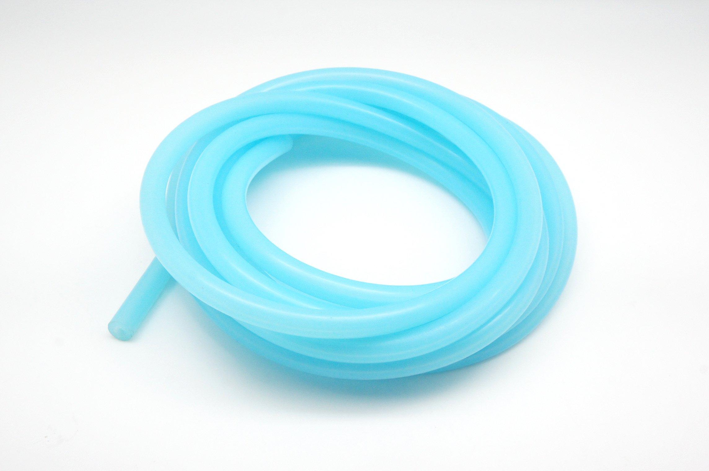 4.5 Meter Autobahn88 High Performance Silicone Vacuum Hose 6mm Blue OD 0.24 ID 0.08 2mm 15 Feet per reel