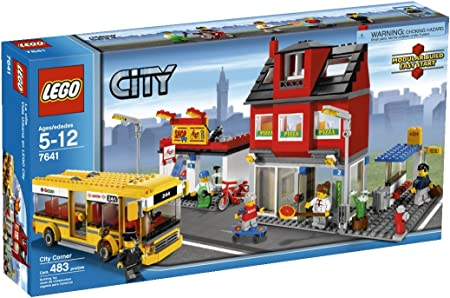 LEGO Town City  Minifig School Boy Child Grandchild Family Kid Brother