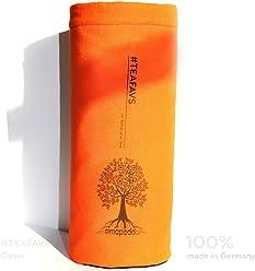 amapodo Copribottiglie Copertura protettiva per macchina da tè Bottiglia Borsa Teiera termica isolante in cotone e feltro in eco qualità