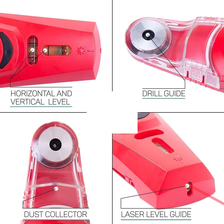4e6320464a ... SmartPro - Livella laser con cattura-polvere per trapani | modello  modello modello di moda ...