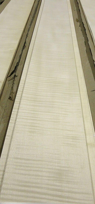 English Sycamore Figured wood veneer 6 x 112 raw no backing 1//42 thick AAA