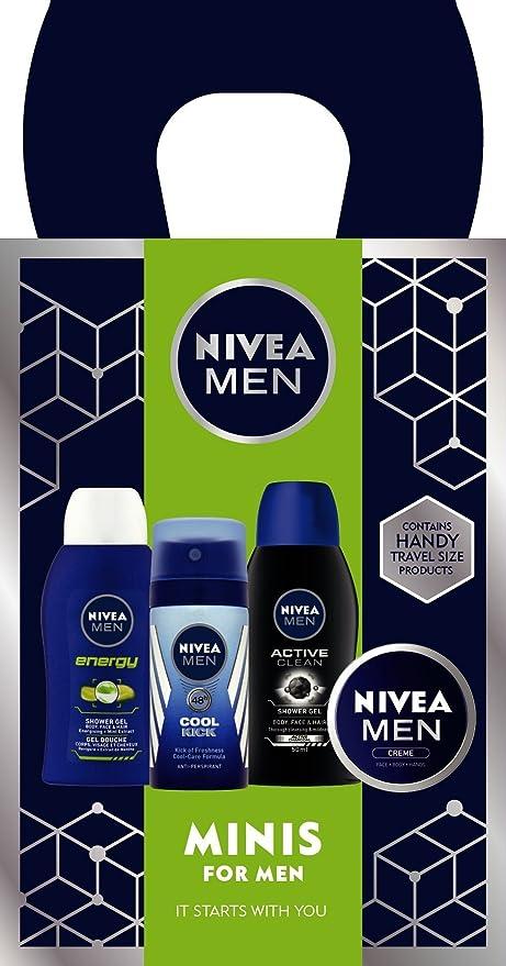 Nivea para los hombres regalo de la Mini Pack: Amazon.es: Belleza