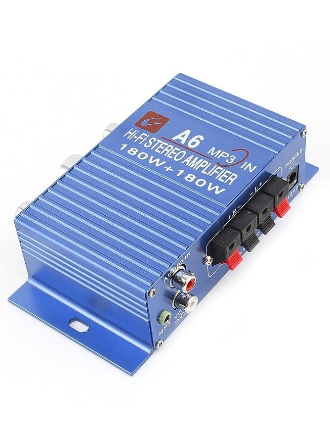 Amazon.com: eDealMax DC 12V 180W del coche de alta fidelidad estéreo Amplificador de Potencia de Audio: Electronics