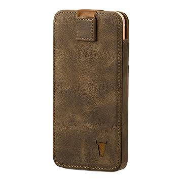 Vintage pelle Custodia iPhone X / iPhone 10 G-Custodia
