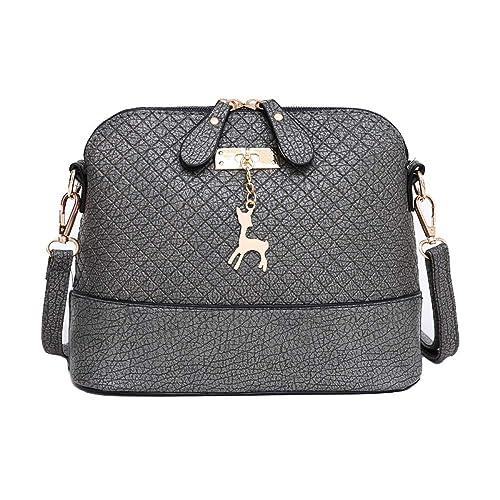 Amazon.com: Bolsas de mensajero para mujer con forma de ...