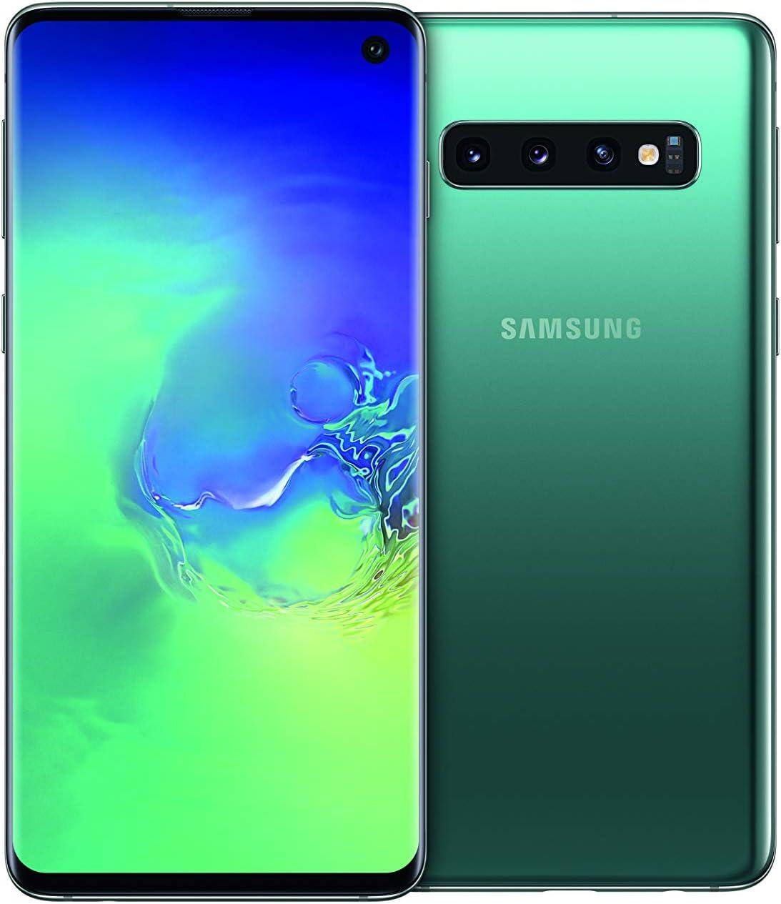 """Samsung Galaxy S10 - Smartphone de 6.1"""", Dual SIM, 128 GB, Verde (Prism Green): Amazon.es: Electrónica"""