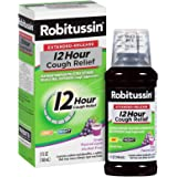Robitussin Extended-Release 12 Hour Cough Relief (5 fl. oz. Bottle, Grape Flavor), Alcohol-Free Cough Suppressant