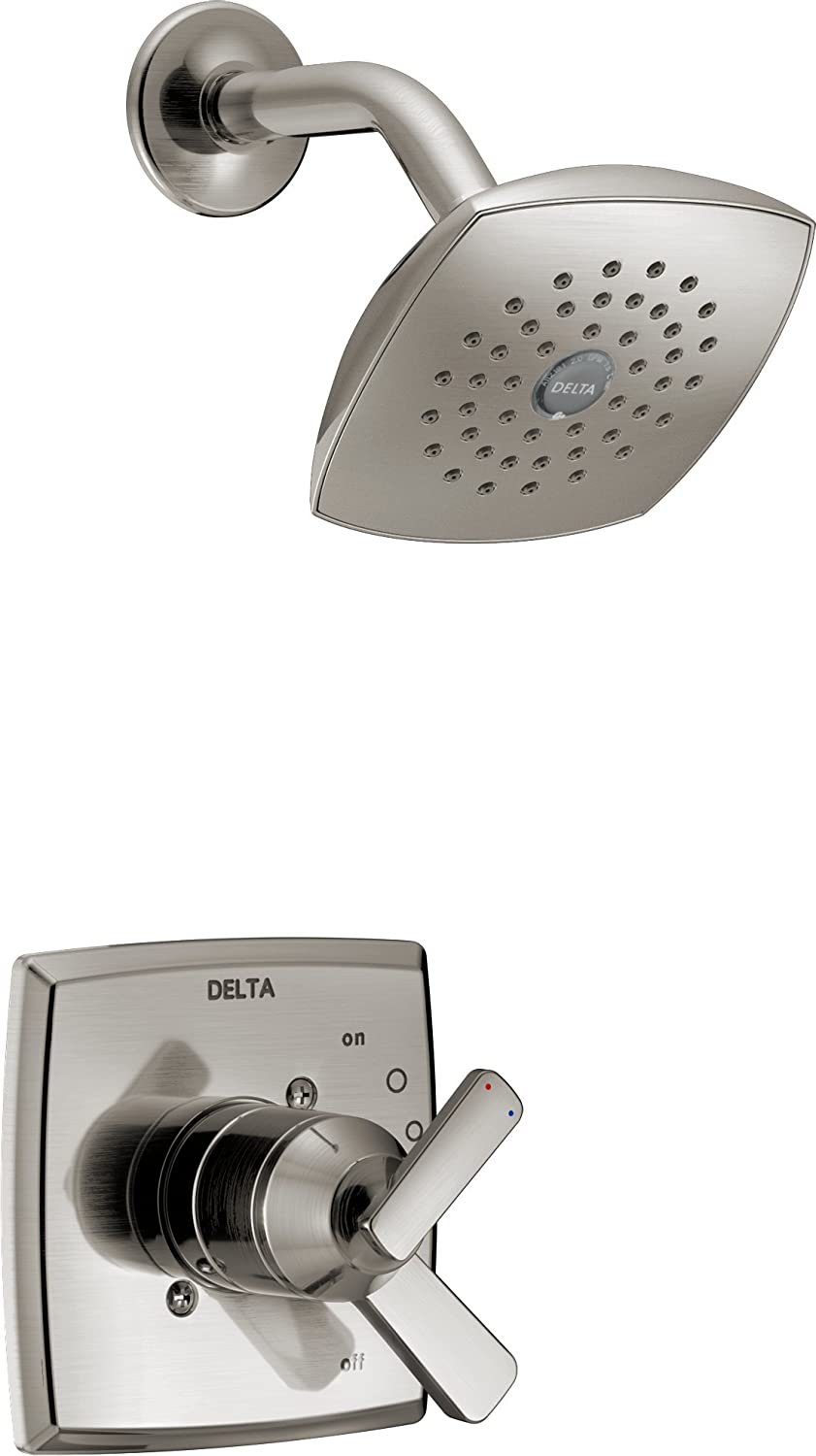 Delta T17264-SS Ashlyn Monitor 17 Series Shower Trim, Stainless ...