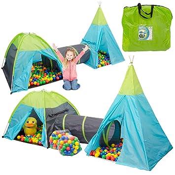 tienda de campaa infantil pocahontas incl tnel bolas de colores bolsa
