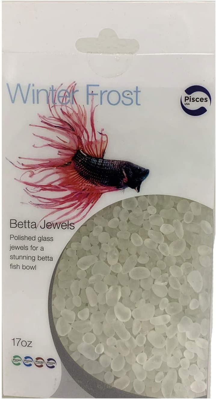 Pisces 17 oz Winter Frost Betta Jewels, One Size