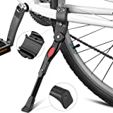 "Bike Kickstands, Furado Side Kickstand, Kickstands, Bike Stand, Bicycle Stand, bicycle kickstand, Cycling kickstand, Aluminum Alloy Kick Stand, Bicycle Alloy Adjustable Side Kickstand, for Bike 22"" - 28"" (Black)"