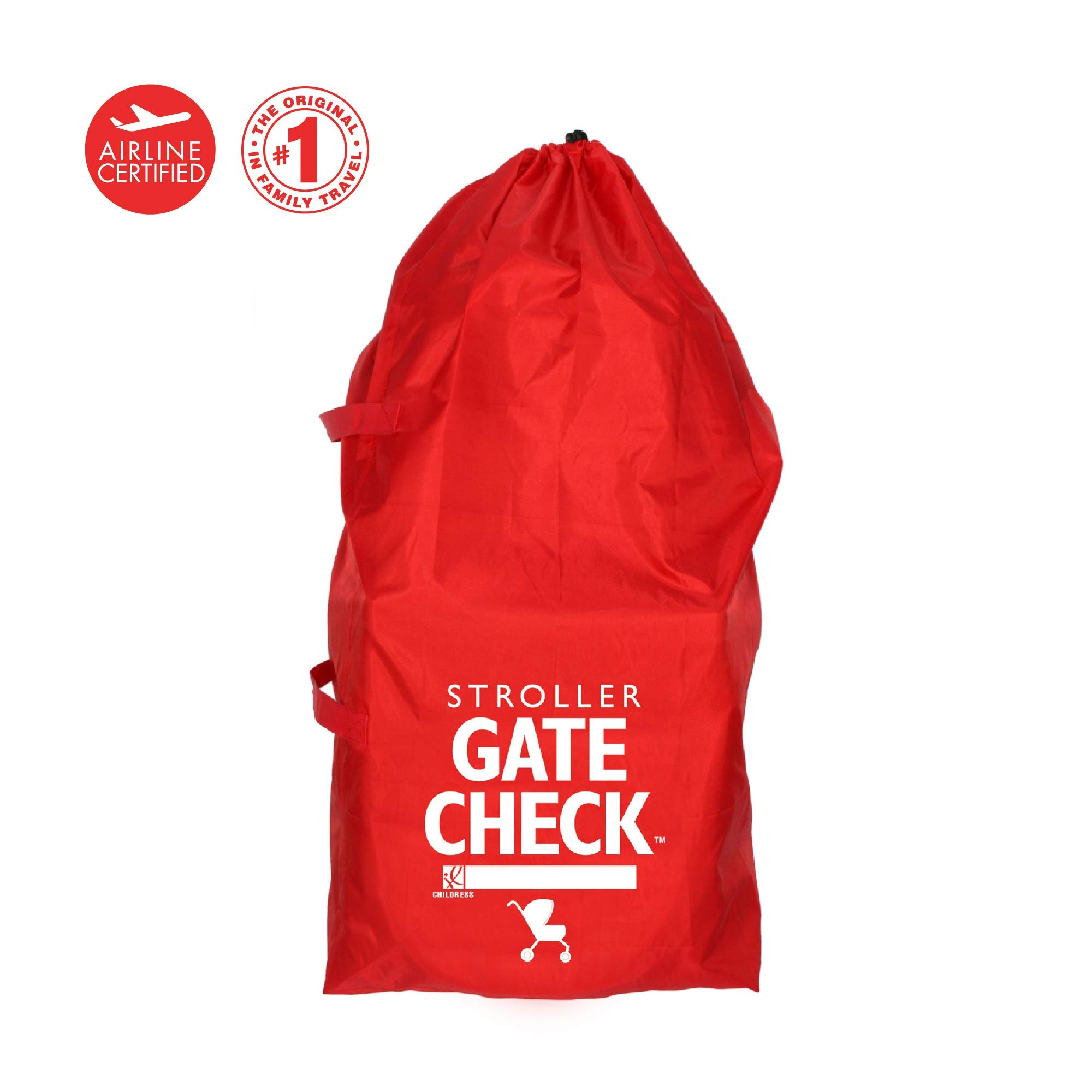 J.L. Childress Gate Check Bag For Standard and Double Strollers, Red by J.L. Childress (Image #3)