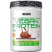 Weider Vegan Protein, Sabor Chocolate, Proteína 100% vegetal de guisantes…