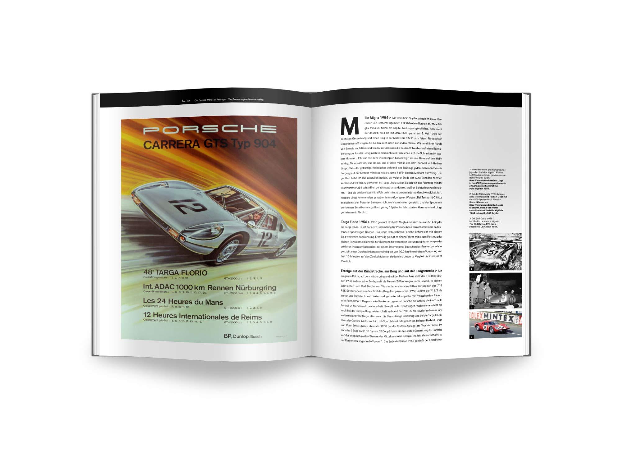 Porsche Carrera-Rennmotor: 4 Zylinder Boxermodell vom Typ 547: Amazon.es: PORSCHE Museum: Libros en idiomas extranjeros