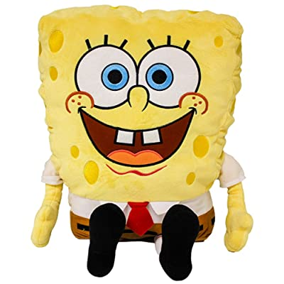 "Nickelodeon Universe Spongebob Plush 24"" with Appliqued Eyes: Toys & Games"