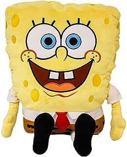 amazon com spongebob squarepants cuddle pillow 26 toys games