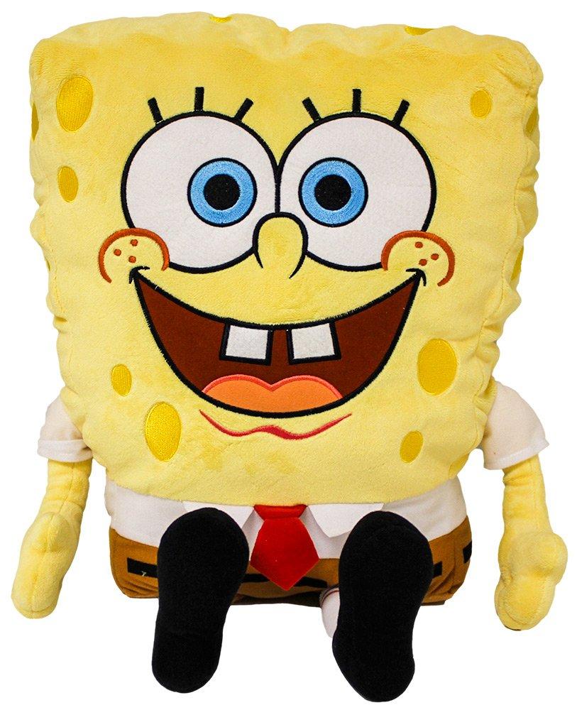 Nickelodeon Universe SpongeBob Plush 24'' with Appliqued Eyes by Nickelodeon Universe
