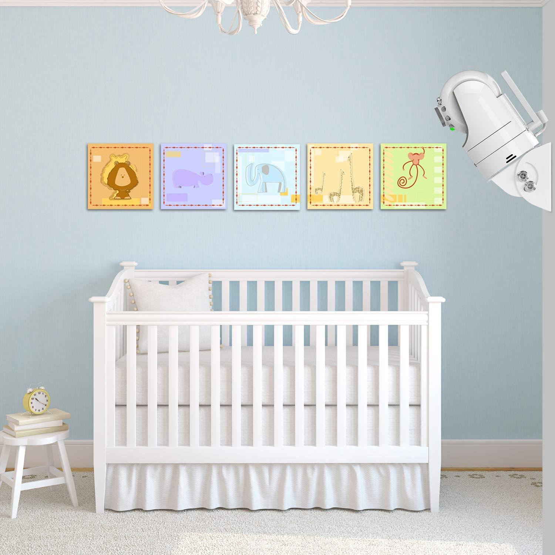 Adjustable Angle Mount for Infant Optics DXR-8, Motorola, Samsung, Babysense, HelloBaby and Most Universal Monitors Camera,Aluminum Alloy Material by Alertcam (Image #2)