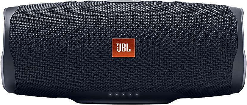 Amazon Com Jbl Charge 4 Portable Waterproof Wireless Bluetooth Speaker Black Electronics