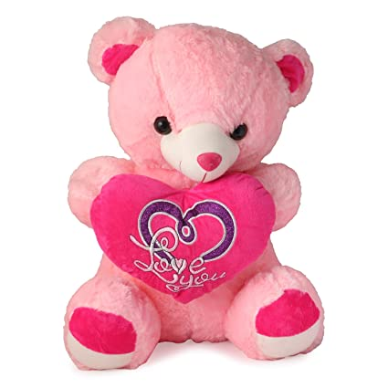 f7f62d229 Buy Skylofts 80 Cm I Love You Heart Stylish Teddy Bear - Pink Online at Low  Prices in India - Amazon.in