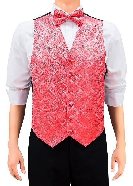 Retreez - Chaleco tejido de cachemira para hombre con corbata ...