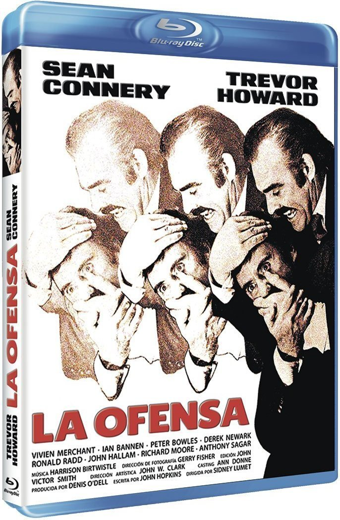 La ofensa [Blu-ray]: Amazon.es: Sean Connery, Trevor Howard ...