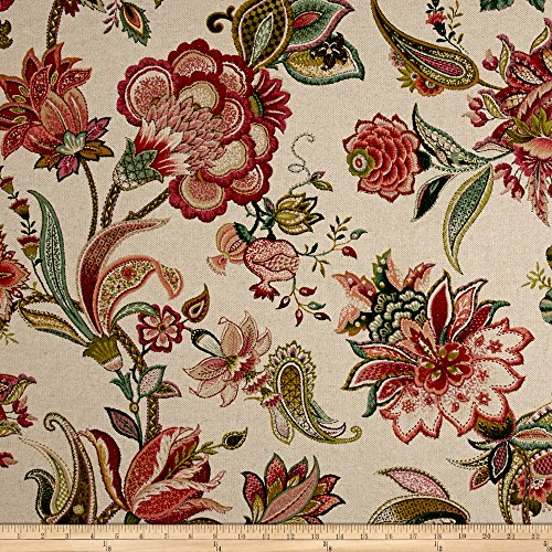 P Kaufmann Garden Flora Basketweave Geranium Fabric for sale  Delivered anywhere in USA