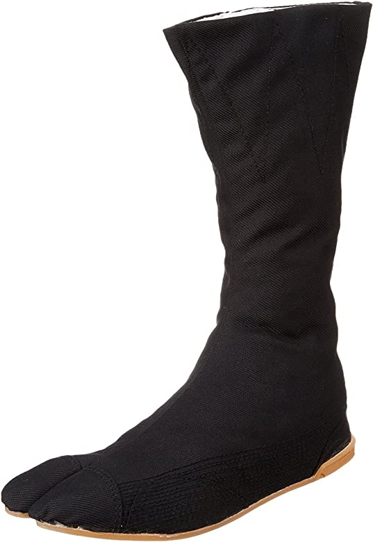 Tabi Boots Ninja Shoes Jikatabi (Outdoor tabi) MANNEN Nuitsuke (Sewn Rubber Outsole) 12 hock