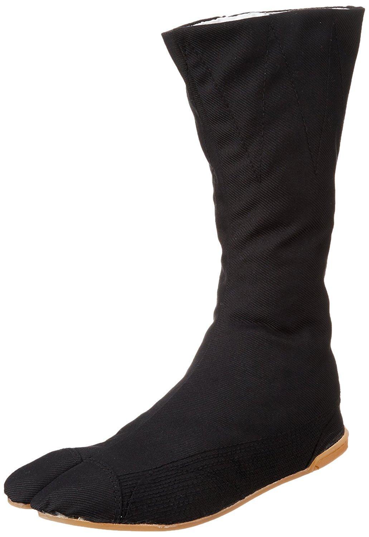 Marugo Tabi Boots Ninja Shoes Jikatabi (Outdoor tabi) MANNEN Nuitsuke (Sewn Rubber Outsole) 12 Hock 25.0cm