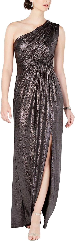 Nashville-Davidson Mall Adrianna Papell Women's Excellent Metallic Jersey Dress