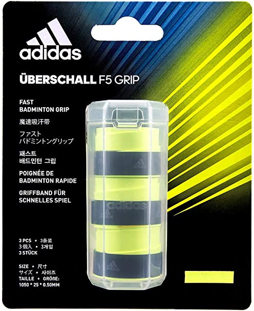 Acera Excavación Abreviar  Amazon.com : adidas uberschall Solar Yellow Overgrip : Sports & Outdoors
