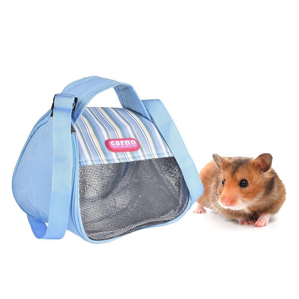Bolsa de transporte para hámster transpirable y portátil para hámster, rata, erizo, chinchilla, hurón, mochila, saco de dormir para colgar: Amazon.es: ...