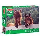Melissa & Doug Horse Corral Jigsaw Puzzle (100 pcs)
