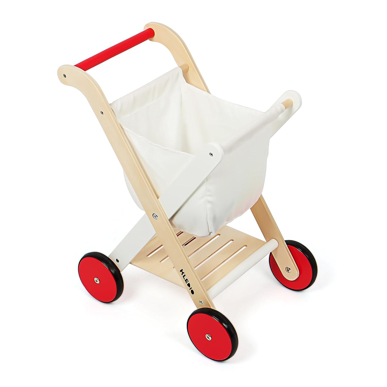 Einkaufswagen für Kinder - Kledio Kinder Einkaufswagen - Kinder Einkaufswagen Holz