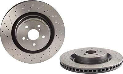 Brembo Coated Front Disc Brake Rotor