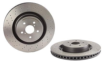 Disc Brake Rotors >> Brembo 09 A300 11 Uv Coated Front Disc Brake Rotor