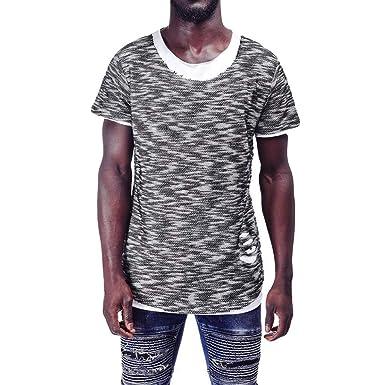 5a3059b5cef4 Amazon.com: 2019 Shirts Deals Mens Summer Casual Euro-American Style ...