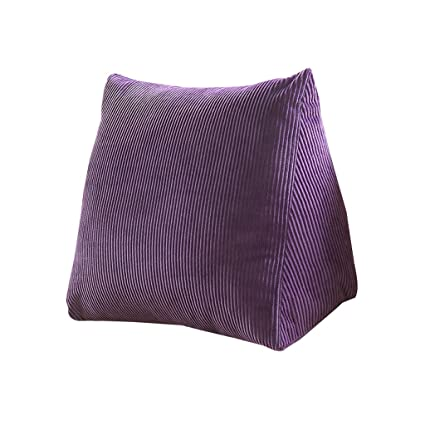 Amazon.com: DDSS Bed cushion Corduroy Bedside Triangular ...
