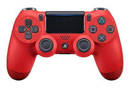 Amazon com: Magma Red Custom PS4 Rapid Fire Custom Modded Controller