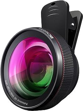 BC Master kit de lente de cámara 2 en 1, Objetivo gran angular de ...