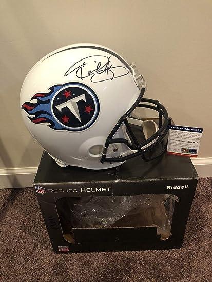 sale retailer 996d1 b18c1 Amazon.com: Derrick Henry Autographed Signed Tennessee ...